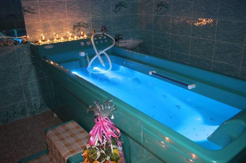 Новинка «Подводный душ-массаж»